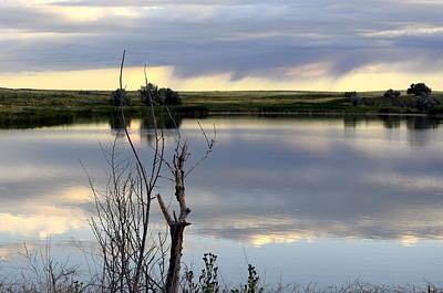 Photograph - Reflection Of Morning Sky by Clarice  Lakota