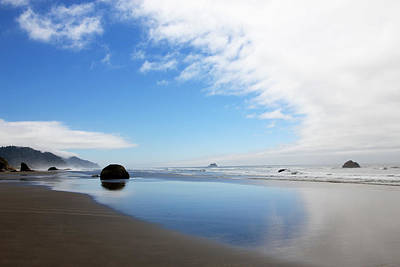 Photograph - Reflection Of Ocean And Sky by Athena Mckinzie