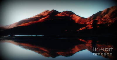 Photograph - Reflection Of Red by Lew Davis