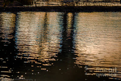 Photograph - Reflection Of The Manchester Bridge by Debra K Roberts