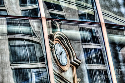Photograph - Reflection Of Time by Jim Lepard