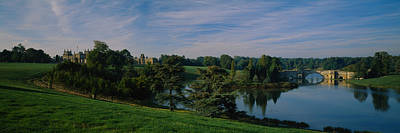 Palace Bridge Photograph - Reflection Of Trees And A Bridge by Panoramic Images