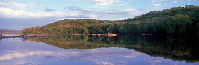 Reflection Of Trees On Water, Potomac Print by Panoramic Images