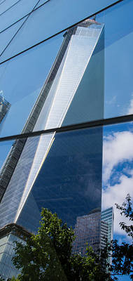 Photograph - Reflection Of Wtc by Chris McKenna