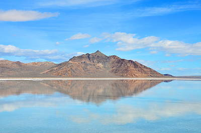 Photograph - Reflection Off Of The Salt Flats by Eric Dewar