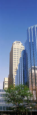 Oklahoma Photograph - Reflection On Bmo Bank Building by Panoramic Images