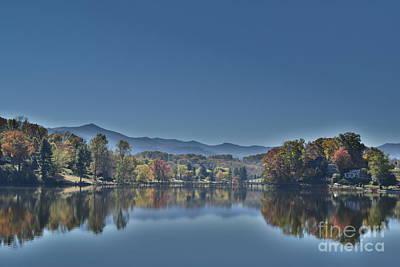 Photograph - Reflections On Lake Junaluska by Gary Smith