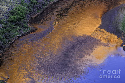 Photograph - Reflection On The Colorado River by Stuart Gordon