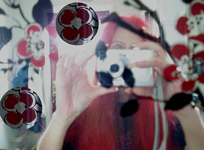 Vintage Camera Mixed Media - Reflection Pop Art by Pepita Selles