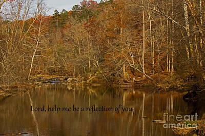 Photograph - Reflection  by Sandra Clark