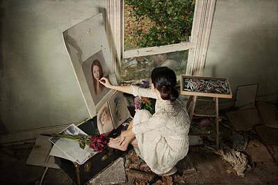 Reflection Art Print by Tammy Swarek