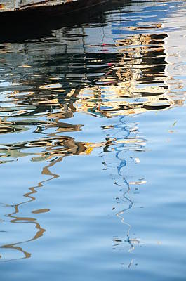 Photograph - Reflections - White by Susie Rieple