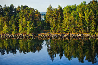 Photograph - Reflections 1 Sweden by Marianne Campolongo