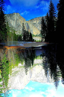 Photograph - Reflections 1 Yosemite by Theresa Ramos-DuVon