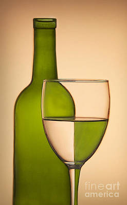 Cantina Photograph - Reflections And Refractions by Susan Candelario
