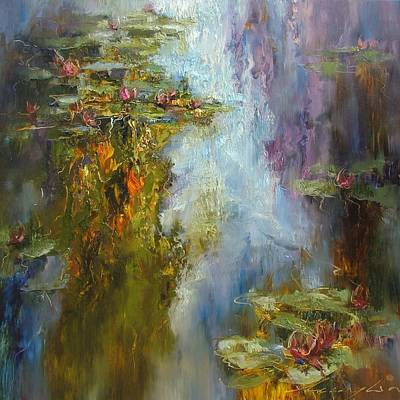 Painting - Reflections by Andras Manajlo