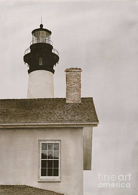 Reflections At Bodie Light Art Print