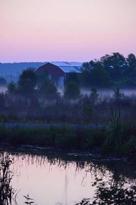 Photograph - Reflections At Dawn II by Maria Urso