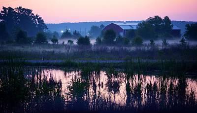 Photograph - Reflections At Dawn by Maria Urso