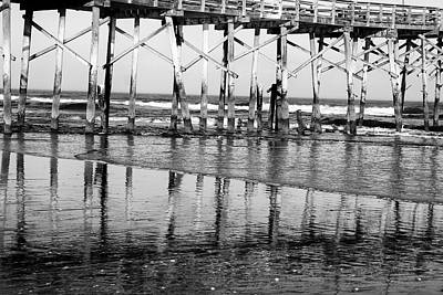 Photograph - Reflections At Low Tide by Beth Akerman