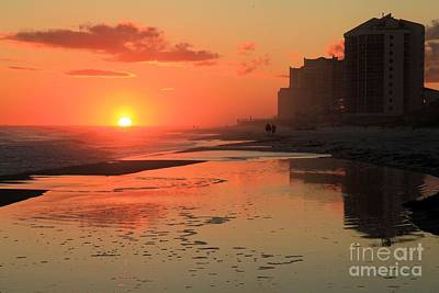Photograph - Reflections At Perdido Key by Adam Jewell