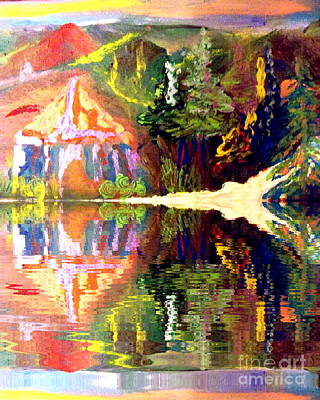 Painting - Reflections  by Deborah Montana