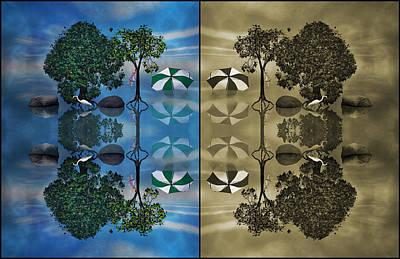 Reflections Print by Betsy C Knapp