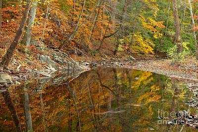 Photograph - Reflections In Bucks County Pennsylvania by Adam Jewell