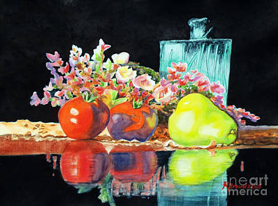 Painting - Reflections In Color by Kathy Braud