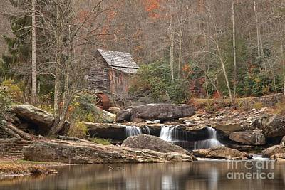 Photograph - Reflections In Glade Creek by Adam Jewell