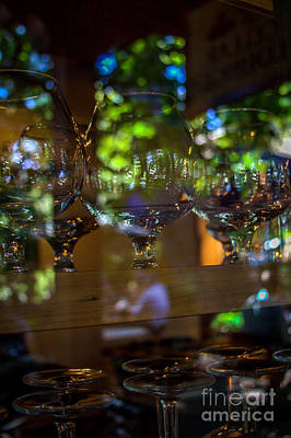 Reflections In Glass Art Print by Jim McCain
