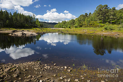 Photograph - Reflections In Glen Affric by Howard Kennedy