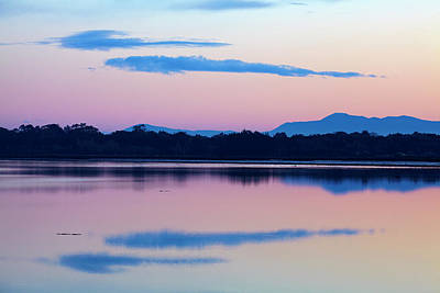Tidal River Photograph - Reflections In New River Estuary by David Wall