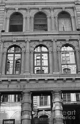 Photograph - Reflections In Old Montreal by Nina Silver