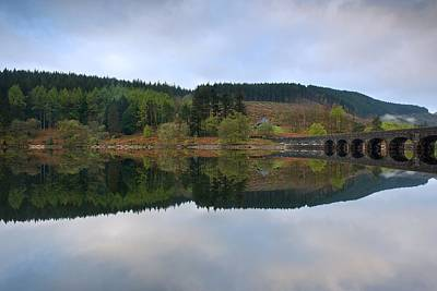 Photograph - Reflections In The Elan Valley by Stephen Taylor