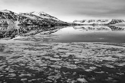 Arctic Photograph - Reflections In The Ice by Anita Oakley