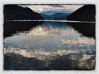 Photograph - Reflections In Water by Tom Culver