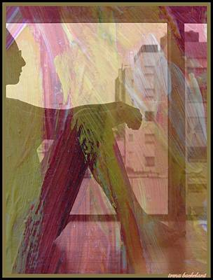 Digital Art - Reflections by Irma BACKELANT GALLERIES