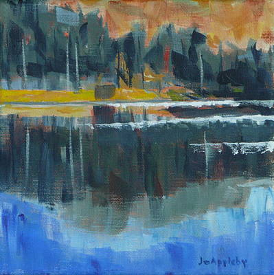 Painting - Reflections by Jo Appleby
