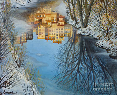 Reflections Art Print by Kiril Stanchev