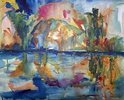 Painting - Florida by Liz Adkinson