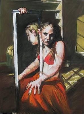 Reflections Art Print by Michelle Winnie