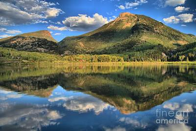Photograph - Reflections Near Crystal by Adam Jewell