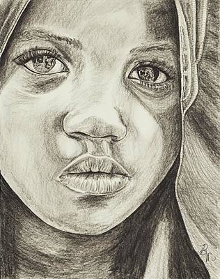 Drawing - Reflections Of A Soul by Beverly Marshall