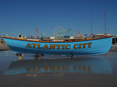 Photograph - Reflections Of Atlantic City by Joshua House