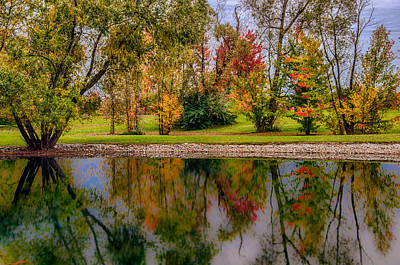 Photograph - Reflections Of Autumn by Gene Sherrill