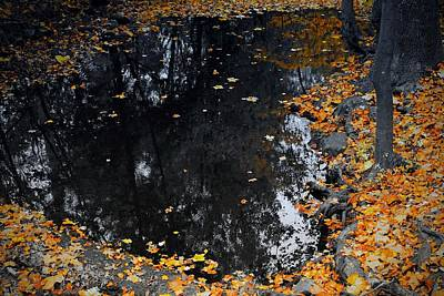 Reflections Photograph - Reflections Of Autumn by Photographic Arts And Design Studio