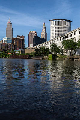 Photograph - Reflections Of Cleveland by Dale Kincaid