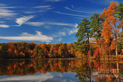 Photograph - Reflections Of Fall by Randy Rogers