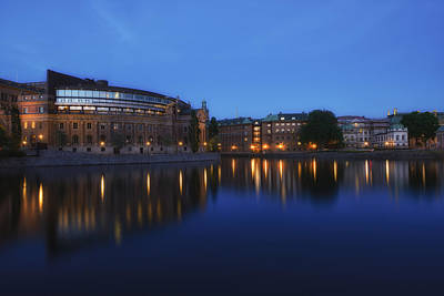Photograph - Reflections Of Gamla Stan - Stockholm - Sweden by Photography  By Sai